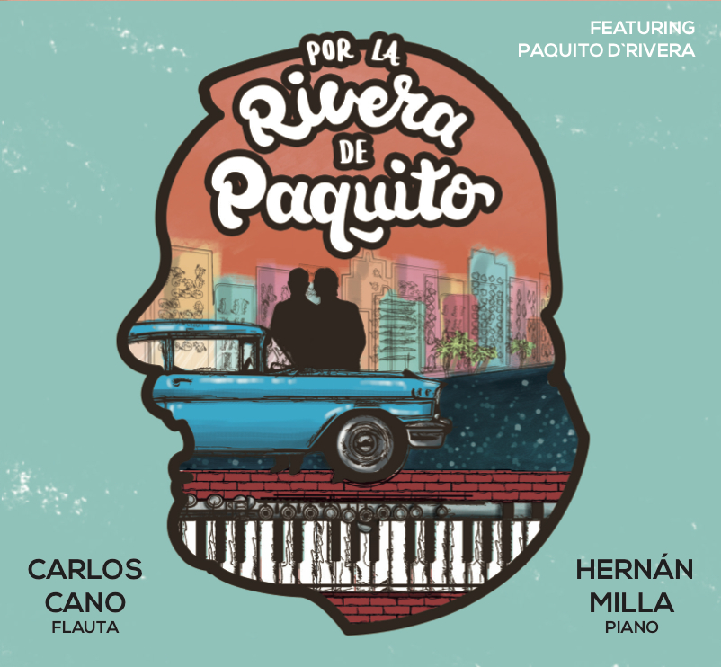 CD Cover Por la rivera de Paquito