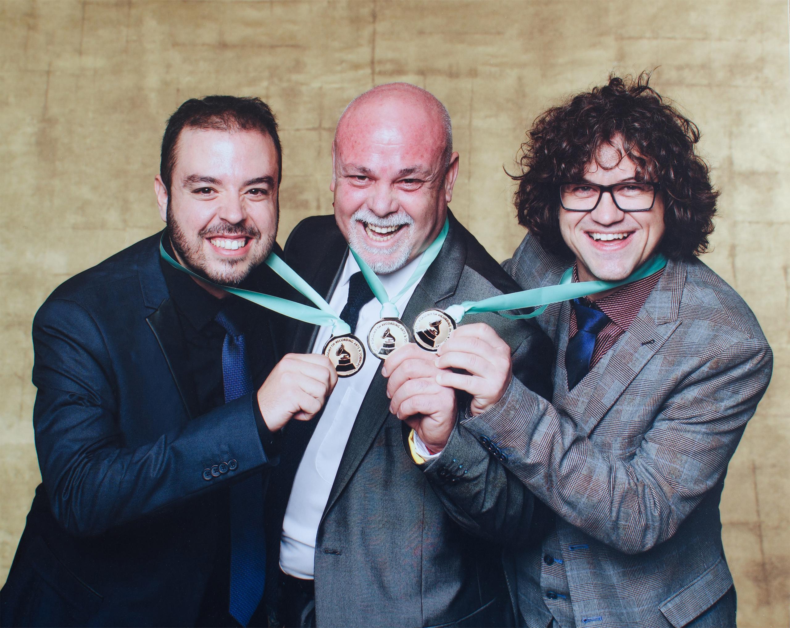 Hernán Milla, Aldo Méndez & Carlos Cano @Latin Grammy2016